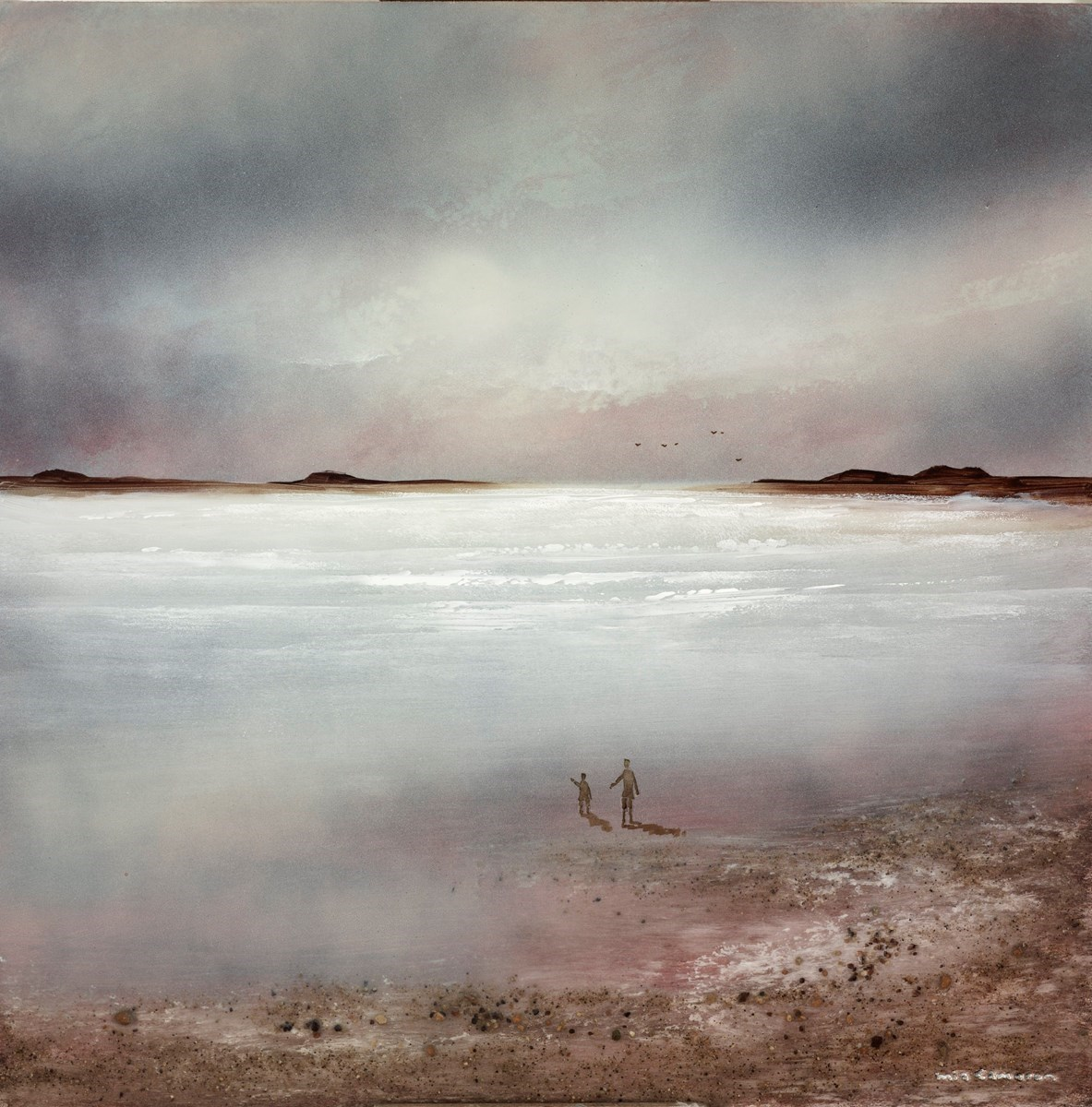 Light Before Dawn IV by Mia Cameron -  sized 16x16 inches. Available from Whitewall Galleries